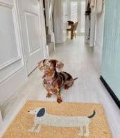 Daschund Doormat | Funky Chunky Furniture